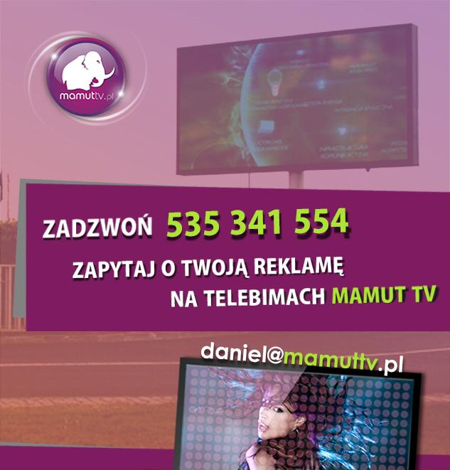reklama na telebimach mamut tv kontakt
