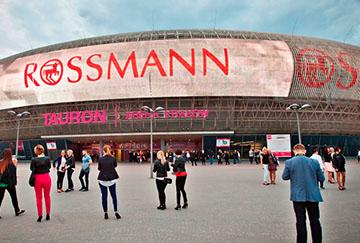 Telebim Kraków Tauron Arena