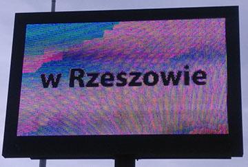 Telebim Korczowa przejście graniczne